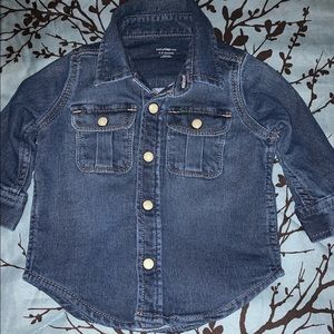Baby Gap Jean button top